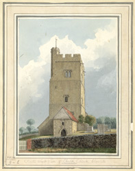 South West View of Chalk Chink Church